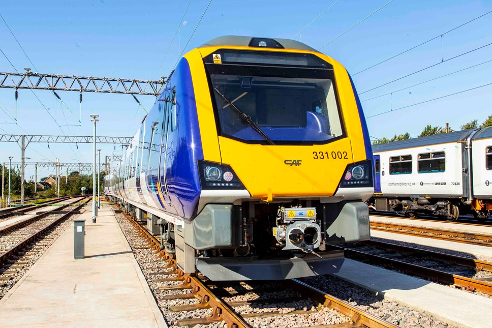 Northern's new trains travel five million miles: New trains