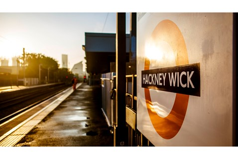 Improved Hackney Wick station