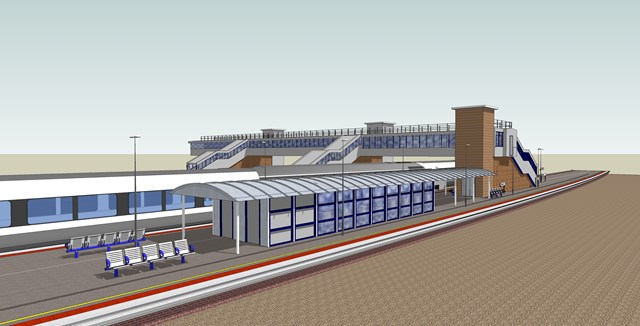 MAJOR REDEVELOPMENT OF PETERBOROUGH STATION ANNOUNCED: New platforms 6 and 7 at Peterborough station