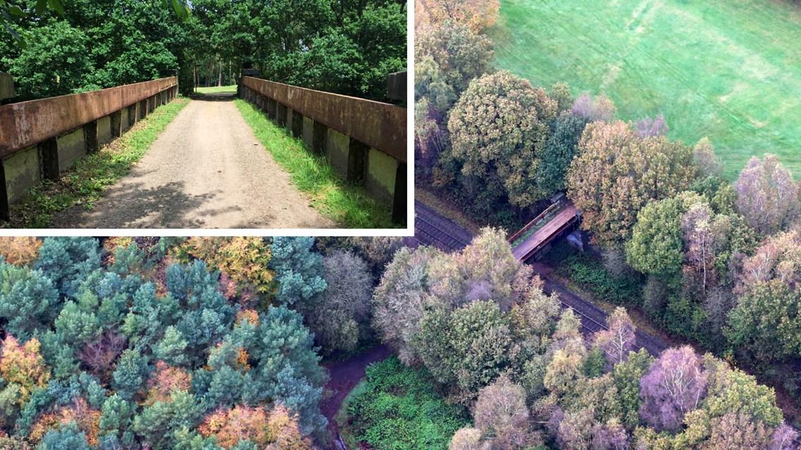Beaconsfield footbridge composite