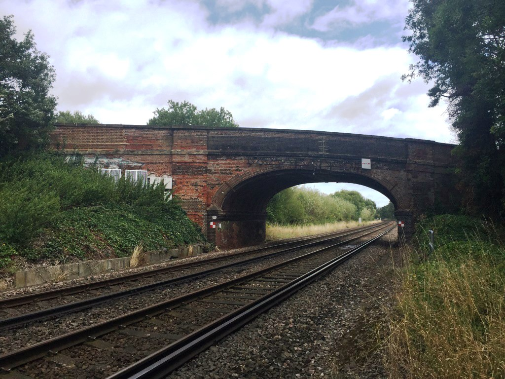 Passengers reminded to check before travelling over bank holiday weekend as Network Rail delivers £2 million investment: CARRS Photo