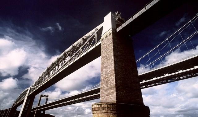 The Royal Albert Bridge (before its refurbishment)