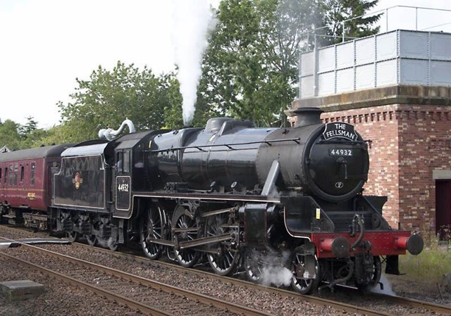 East Coast Digital Programme selects Atkins and Thales as key partners for Heritage rail vehicles Pathfinder Project: Black Five locomotive, photo credit - West Coast Railways