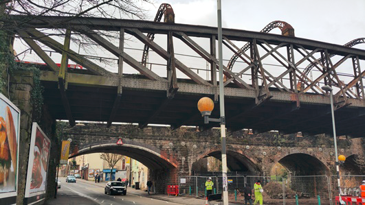 Viaduct work to enable doubling number of train lines starts next week in Bristol: Stapleton Road-2