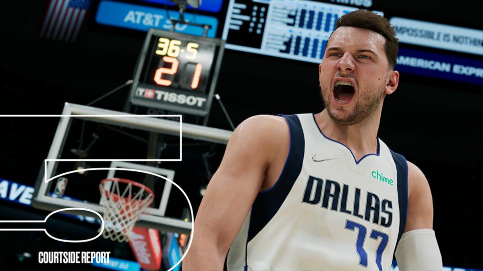 NBA 2K22 Courtside Report 5