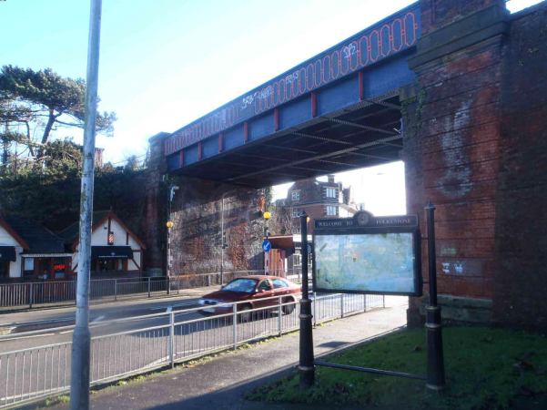New lease of life for Cheriton Road Bridge in Folkestone: Cheriton Road Bridge