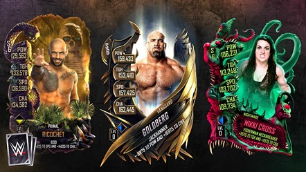 WWE SuperCard: Season 6 Available Today!: WWESC S6 Art