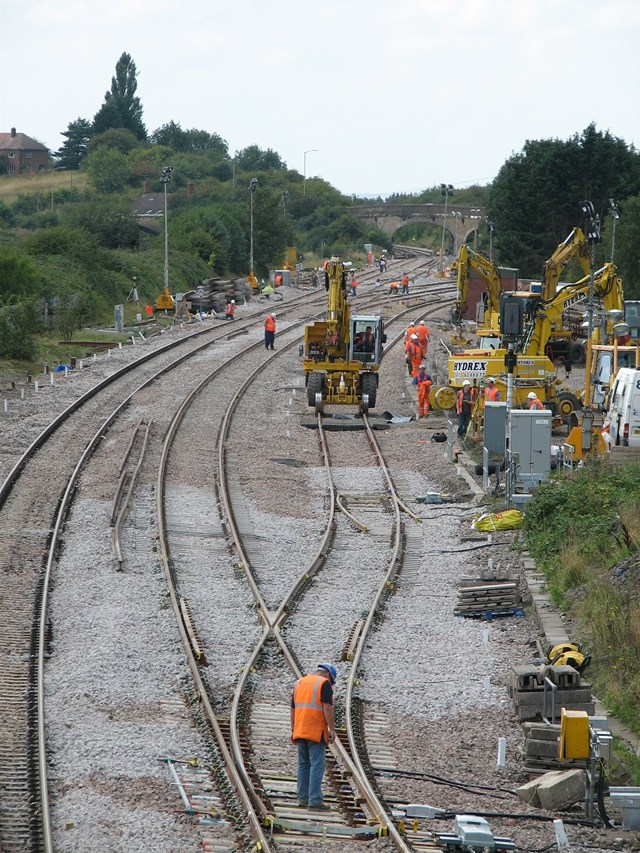 Wootton Bassett: Works in progress