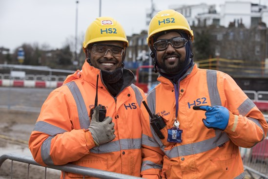 HS2 signs up to improve employment outcomes for BAME workers: HS2 signs Race at Work Charter July 2020