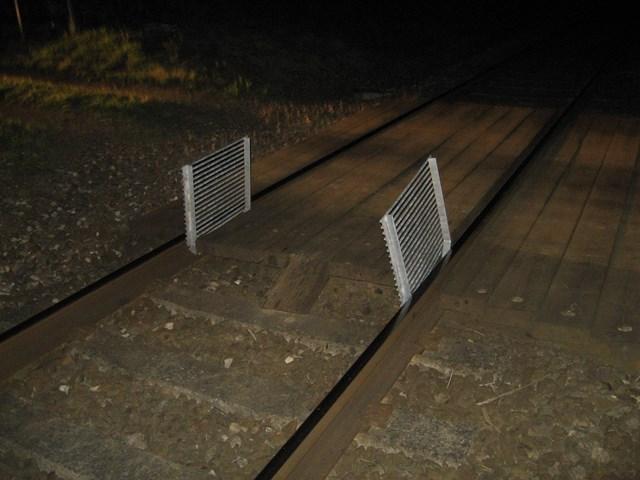 Egleton crossing, Okaham obstructions