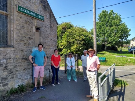 Council grant helps village hall fundraising hit its target: CFG Alice Marshall Hall