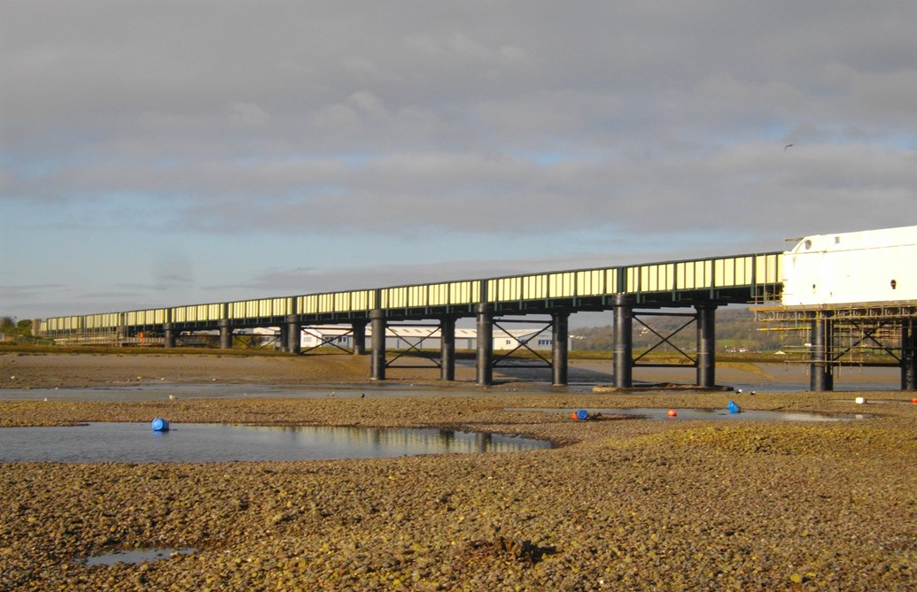 Multi-million pound upgrade to historic Shoreham Viaduct, Sussex, to be completed at Christmas: Shoreham Viaduct
