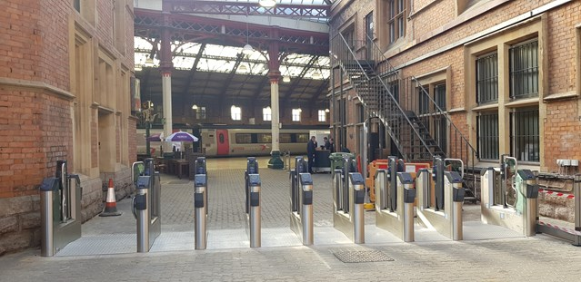 Passengers at Bristol Temple Meads set to benefit from two new entrances and ticket gates: New ticket gates 01