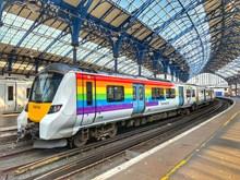 Pride Thameslink train at Brighton -credit Matthew Wilmhurst, GTR (1)