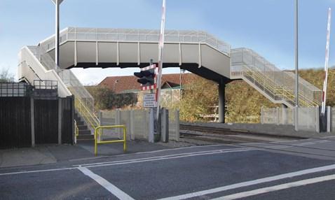 North Sheen Footbridge