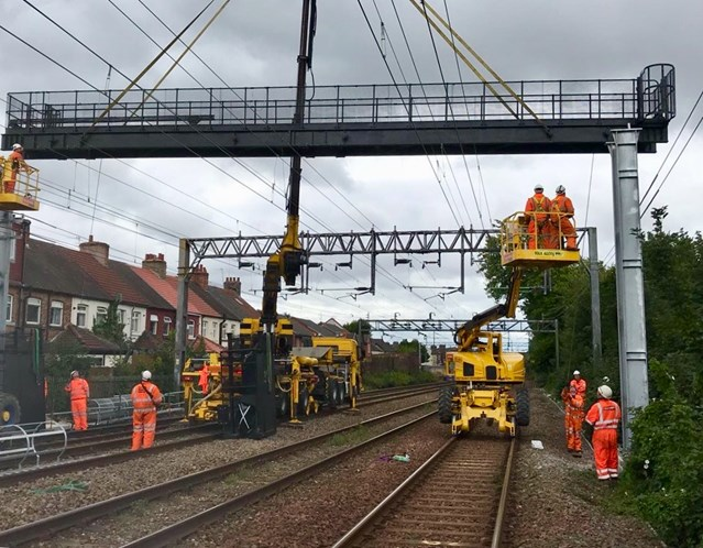 Passengers advised to check before they travel with Christmas railway upgrade on Merseyside and in Greater Manchester two weeks away: Weaver to Wavertree resignalling work August 2018