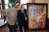 First Minister's 2013 Christmas card: Peter Howson's Artaban to benefit four charities and add to £148,000 already raised.