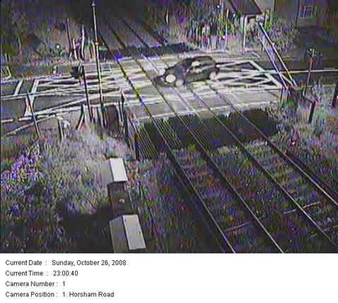 Level Crossing Prosecution - Horsham Road, Crawley - Oct 08c