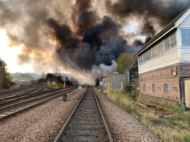 Full train service expected at Bradford Interchange tomorrow following major fire near railway
