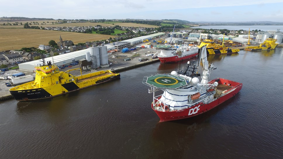Edinburgh software firm ION Geo aims to make ports smarter, safer and greener, starting in Montrose: MPA-6