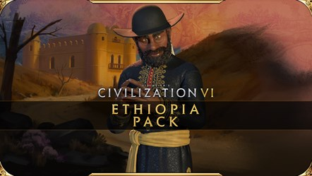 Civilization VI - New Frontier Pass - Ethiopia Pack Key Art