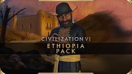 Civilization VI - New Frontier Pass: Ethiopia Pack Available Today: Civilization VI - New Frontier Pass - Ethiopia Pack Key Art