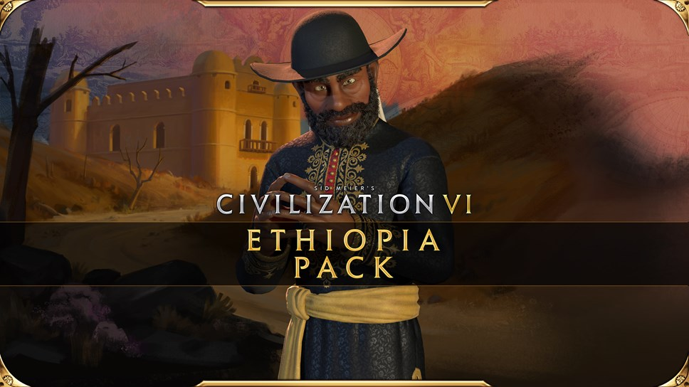Civilization VI - New Frontier Pass: Ethiopia Pack Available Today: Civilization VI - New Frontier Pass - Ethiopia Pack Key Art