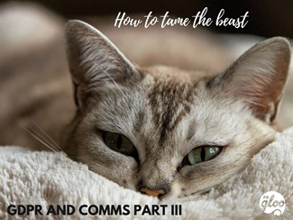 GDPR: Part III of your Comms Guide Sorted: hey there! (5)