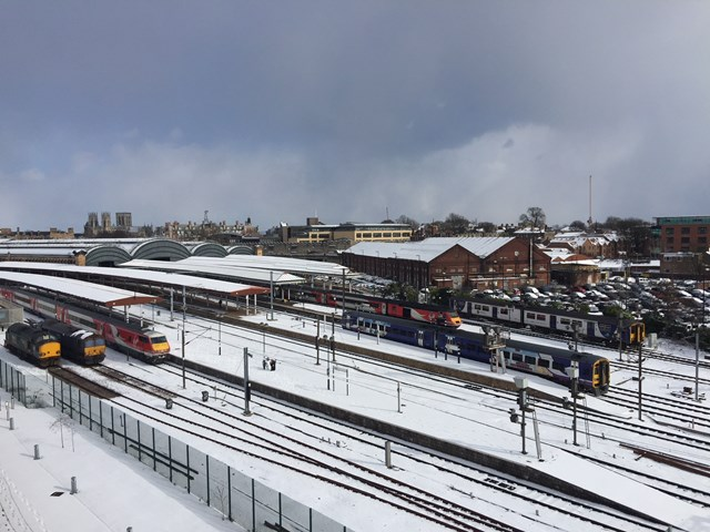 York station from the ROC