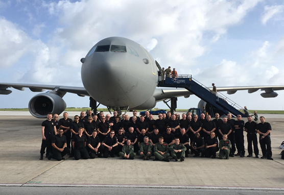 ACC Chris Shead - Our officers volunteered to help those in need in the aftermath of Hurricane Irma: BVI team photo