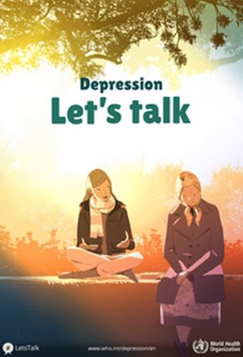 World Health Day supported by Leeds as  international campaign against depression is backed: letstalkdepressiont.jpg
