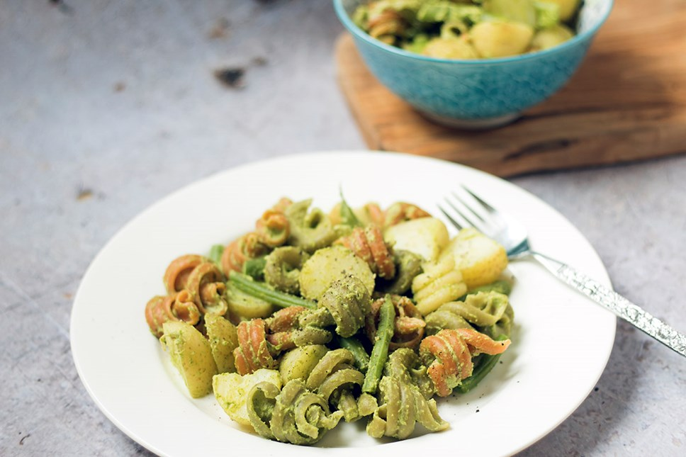 Islington residents help fight food waste and encourage sustainable eating: Broccoli Pesto Genovese with sneaky veg