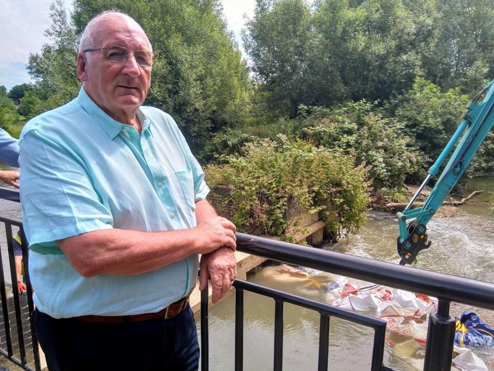 River breach bridge Norman MacRae