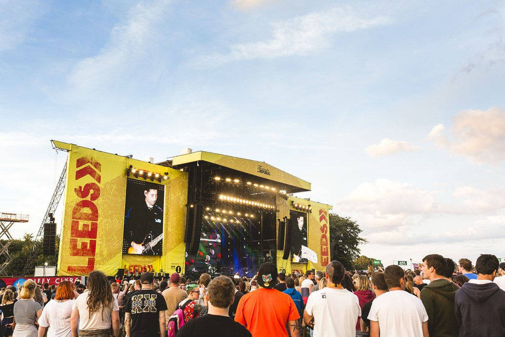 Network Rail workers are preparing themselves for an influx of music lovers ahead of the annual Leeds Festival this bank holiday weekend: Leeds Festival. Photo Credit-Lauren Maccabee