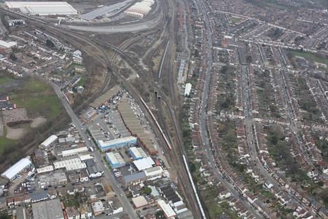 Croydon bottleneck / Selhurt triangle 4