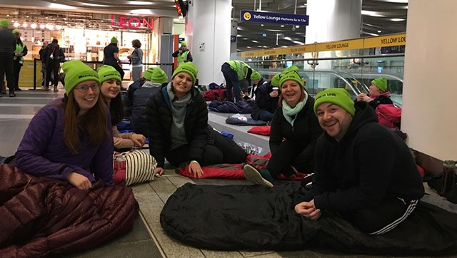 Sleepout volunteers 3