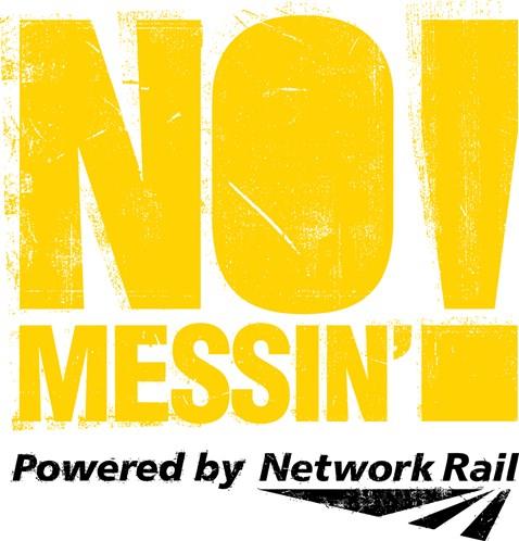 No Messin Logo Yellow