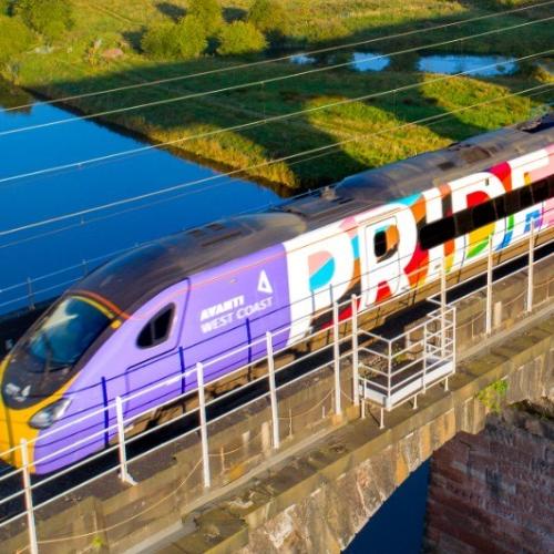 Progress Pride Train