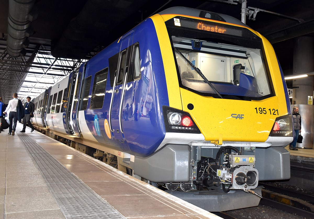 Class 195 at Manchester Victoria 2