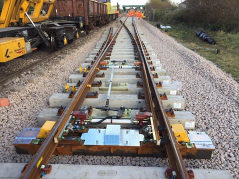 The £50m North Wales Railway Upgrade project also includes track renewals
