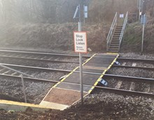 Islands level crossing Bentley improvements
