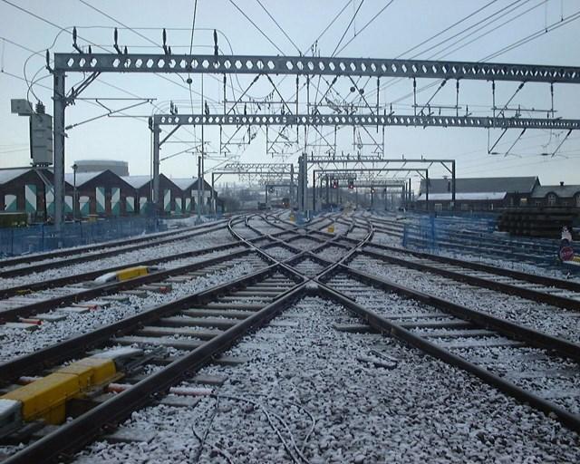 Overhead line electrification (OLE): Overhead line electrification (OLE)