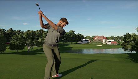 Revolutionary Mapping Technology Brings Real Deal TPC Courses to Life in PGA TOUR® 2K21: PGATOUR2K21 East Lake Golf Club Screen 2