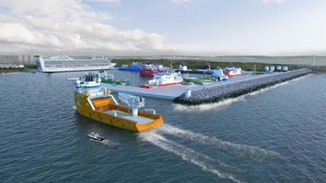 Aberdeen harbour expansion: AHEP Sea View.jpgAH