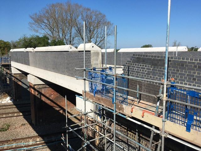 Major milestones reached in reconstruction of two Northamptonshire road bridges and upgrade to Kettering station begins 3