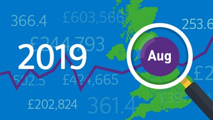 Little change in UK house price growth in August: 08-HPI-2019-Aug