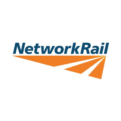 Network Rail advising passengers on South Western Railway to check before travelling  due to adverse weather conditions: Network Rail logo-15