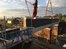 Major milestones reached in reconstruction of two Northamptonshire road bridges and upgrade to Kettering station begins-6