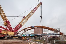 The Network Arch Bridge at the Ordsall Chord in Manchester (Matthew Nichol Photography)