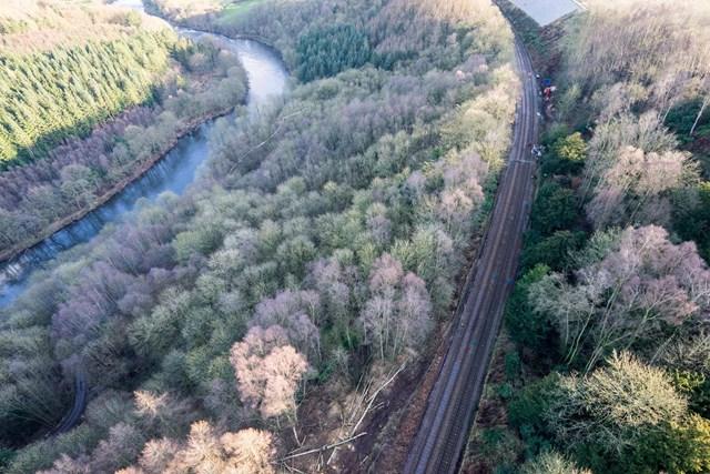 Aerial of Eden Brows site 3 16